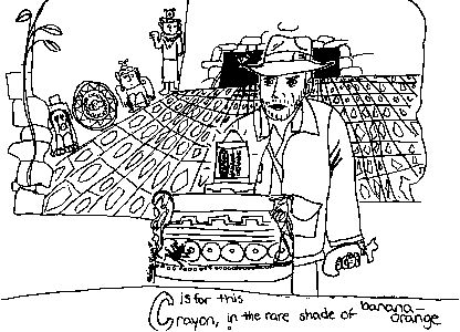 Indiana jones abc coloring book for Indiana jones coloring pages